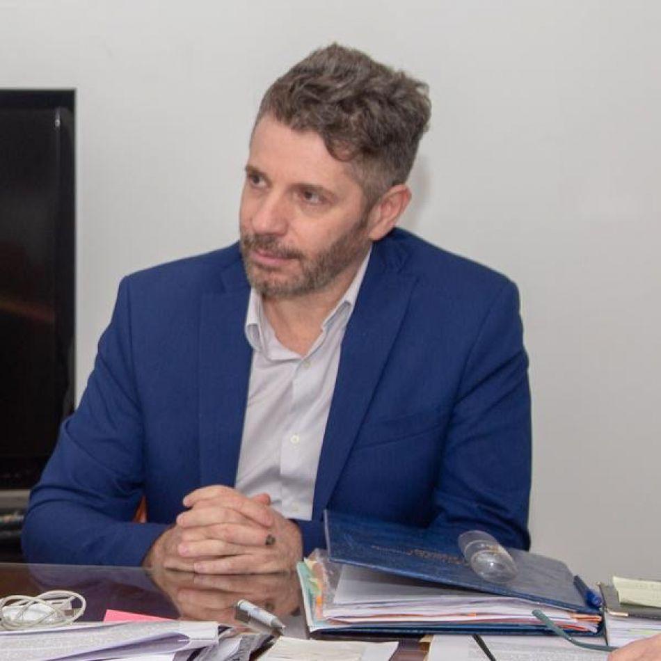 Ministro Jefe de Gabinete Leonardo Gorbacz