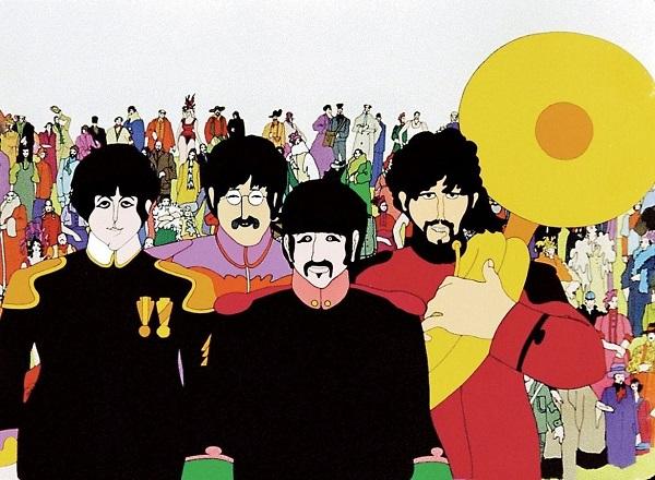 """Lanzarán un cómic por los 50 años de """"Yellow Submarine"""""""