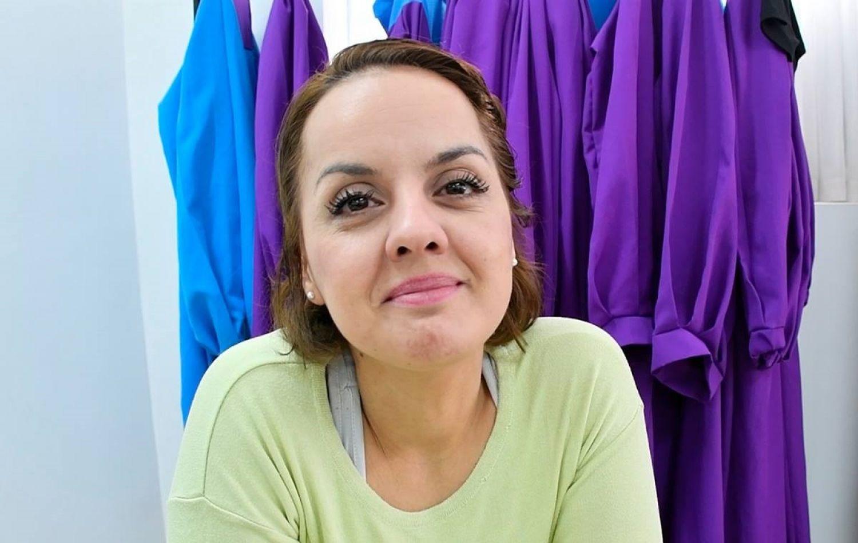 Yannina Cejas, directora del coro Gospel.