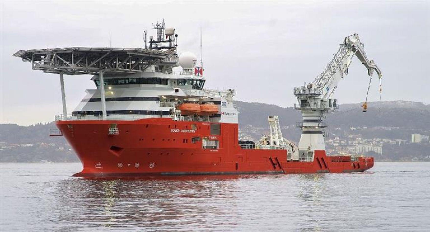 El buque estadounidense partirá desde el puerto chubutense de Comodoro Rivadavia.