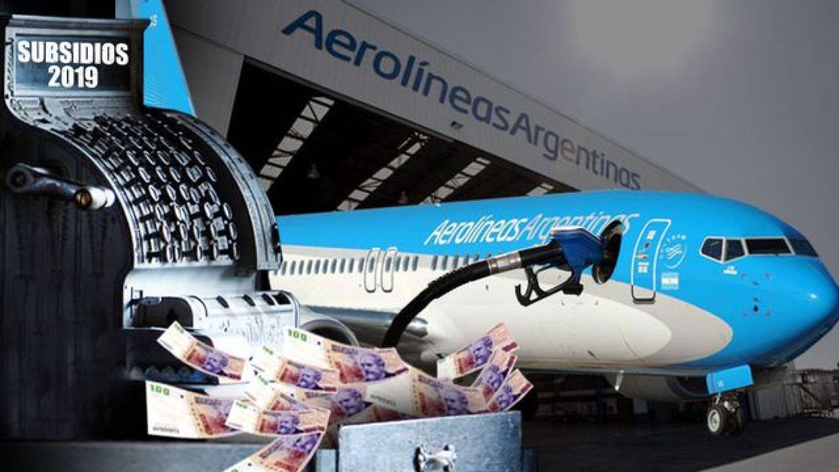 """Aerolíneas abandona la política de """"subsidio cero"""" para el 2019"""