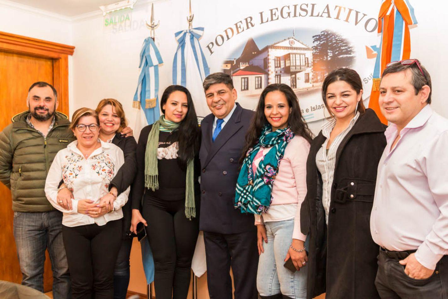 """El Vicegobernador recibió a integrantes de la Fundación """"Te quiero Paraguay"""""""
