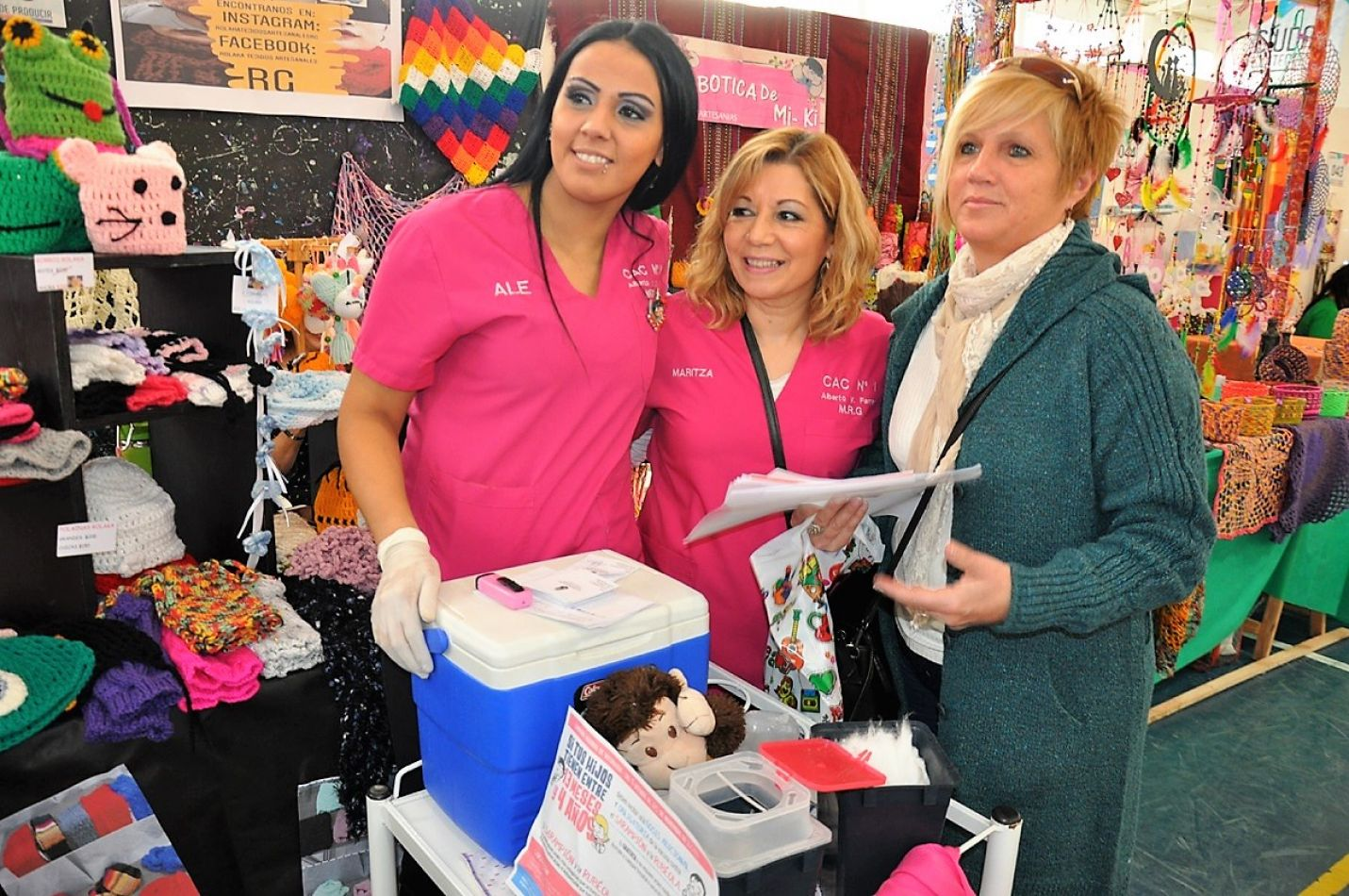 El Municipio llevó a cabo campaña de vacunación antigripal