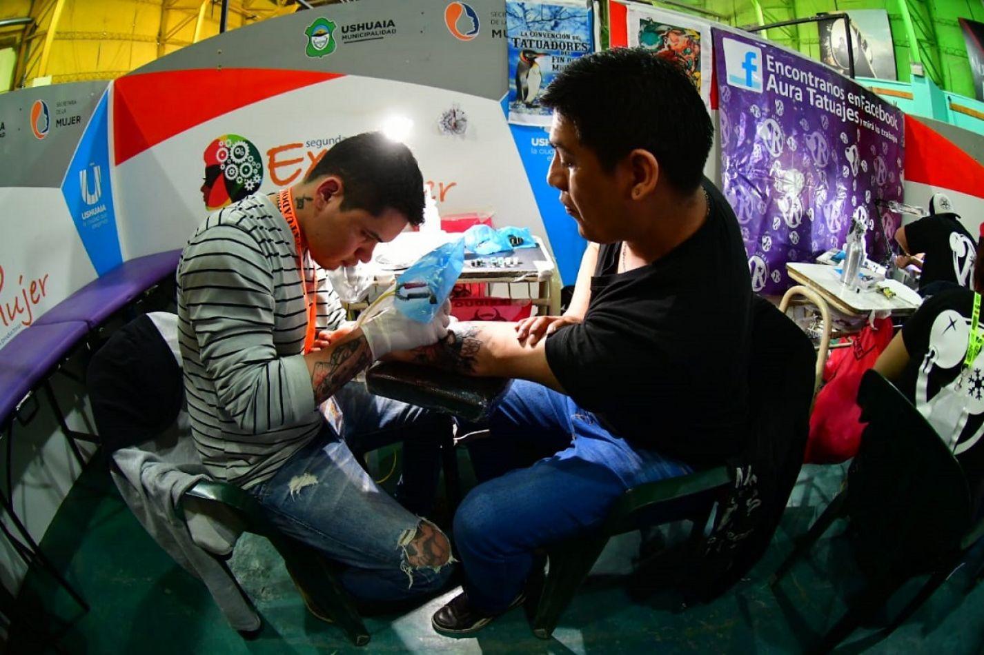 Sexta convención de Tatuadores en el Esther Fadul