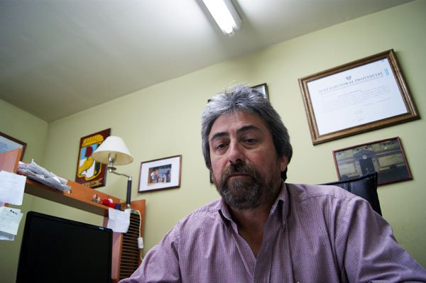 Candidato a Intendente de Río Grande por el PJ, Raúl Moreira.