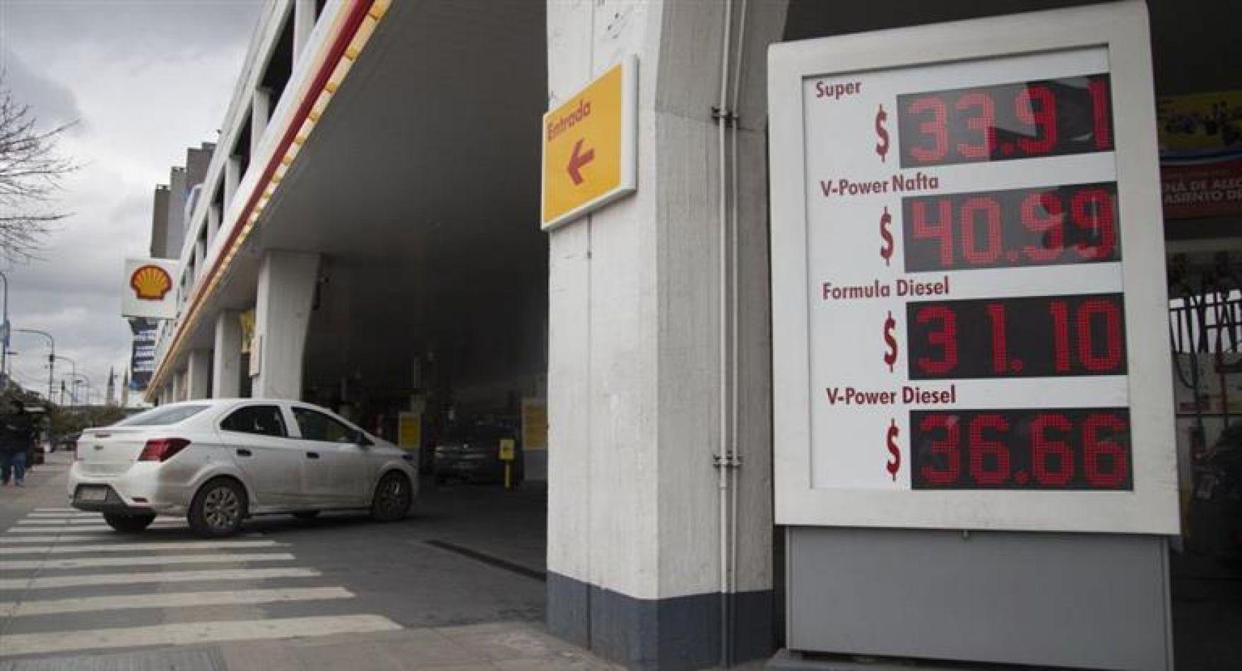 Shell aumenta el gasoil un 2,3% en promedio
