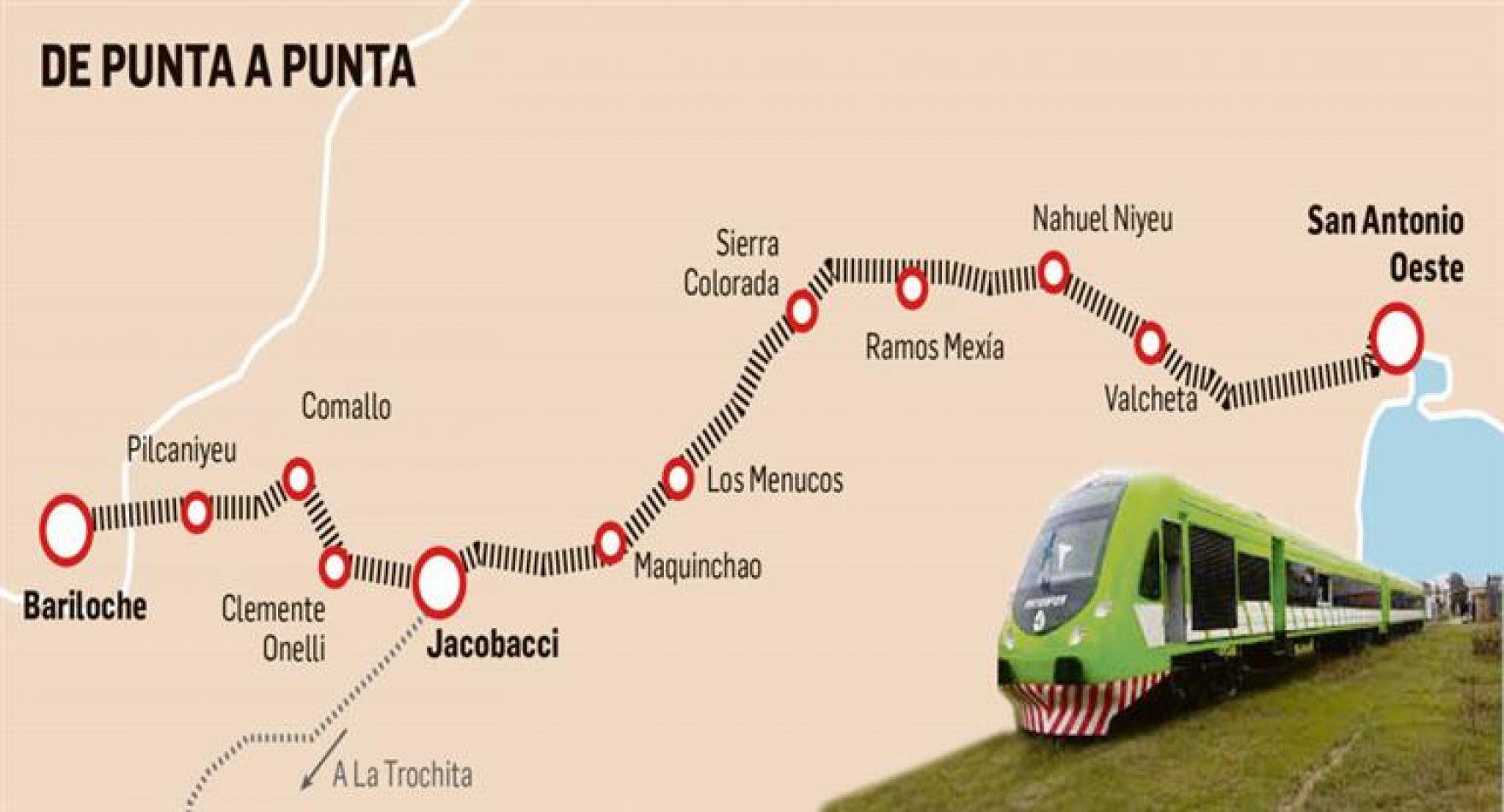 El tren que ilusiona a pueblos de la Patagonia