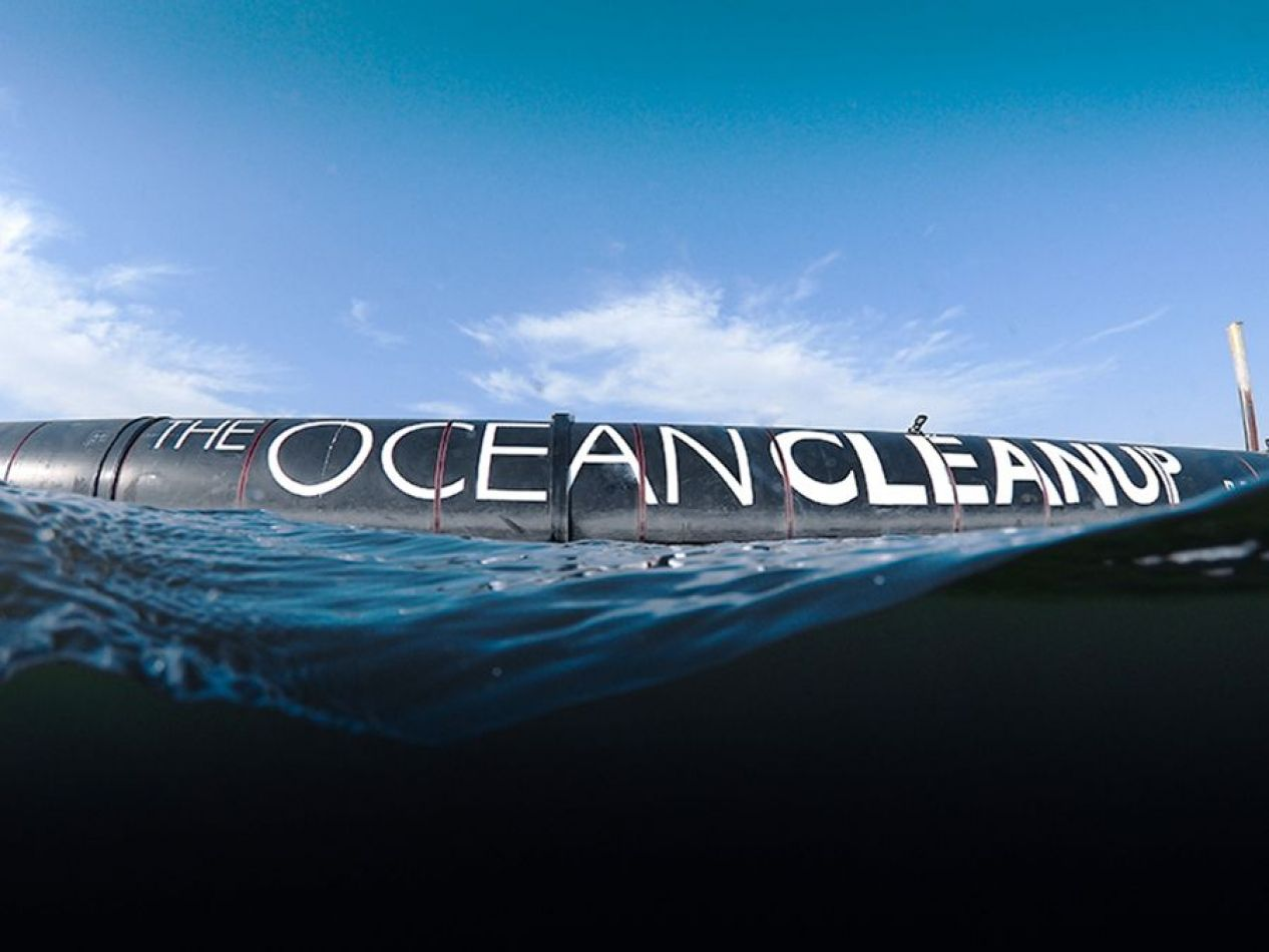 """El """"System 001"""" es un flotador de 600 metros de longitud"""