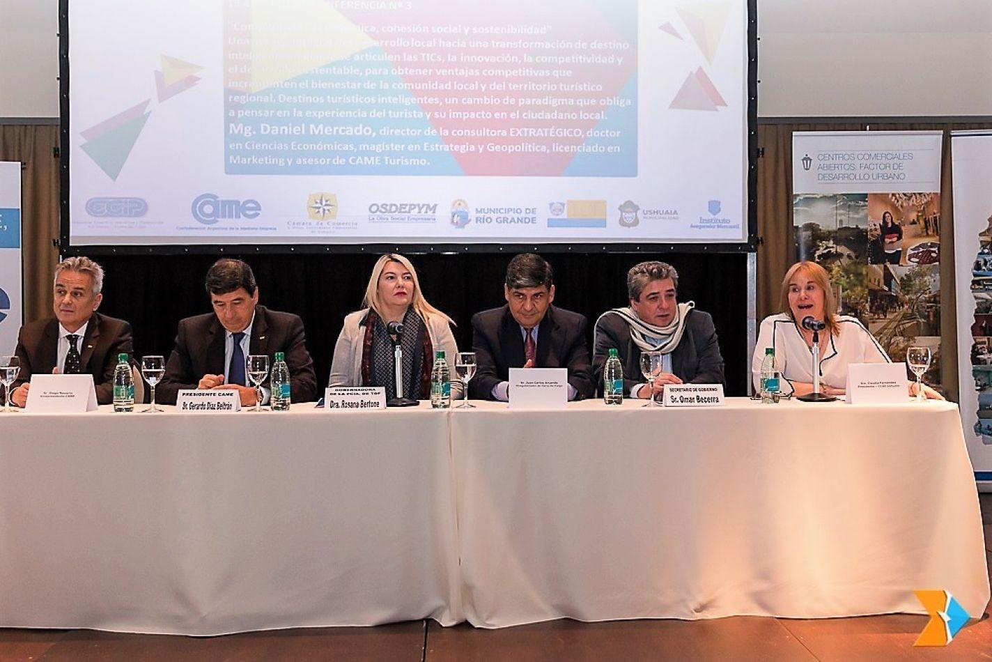 El Parlamento acompañó el 3° Foro Regional de Comercio y Turismo