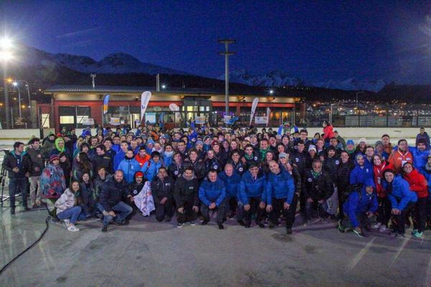 Comenzaron los Juegos de Invierno en Ushuaia