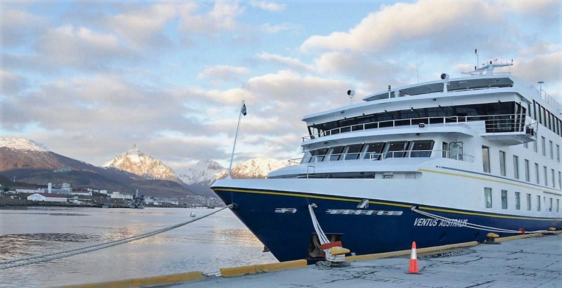 Arribó a Ushuaia el primer crucero de la temporada 2018-2019