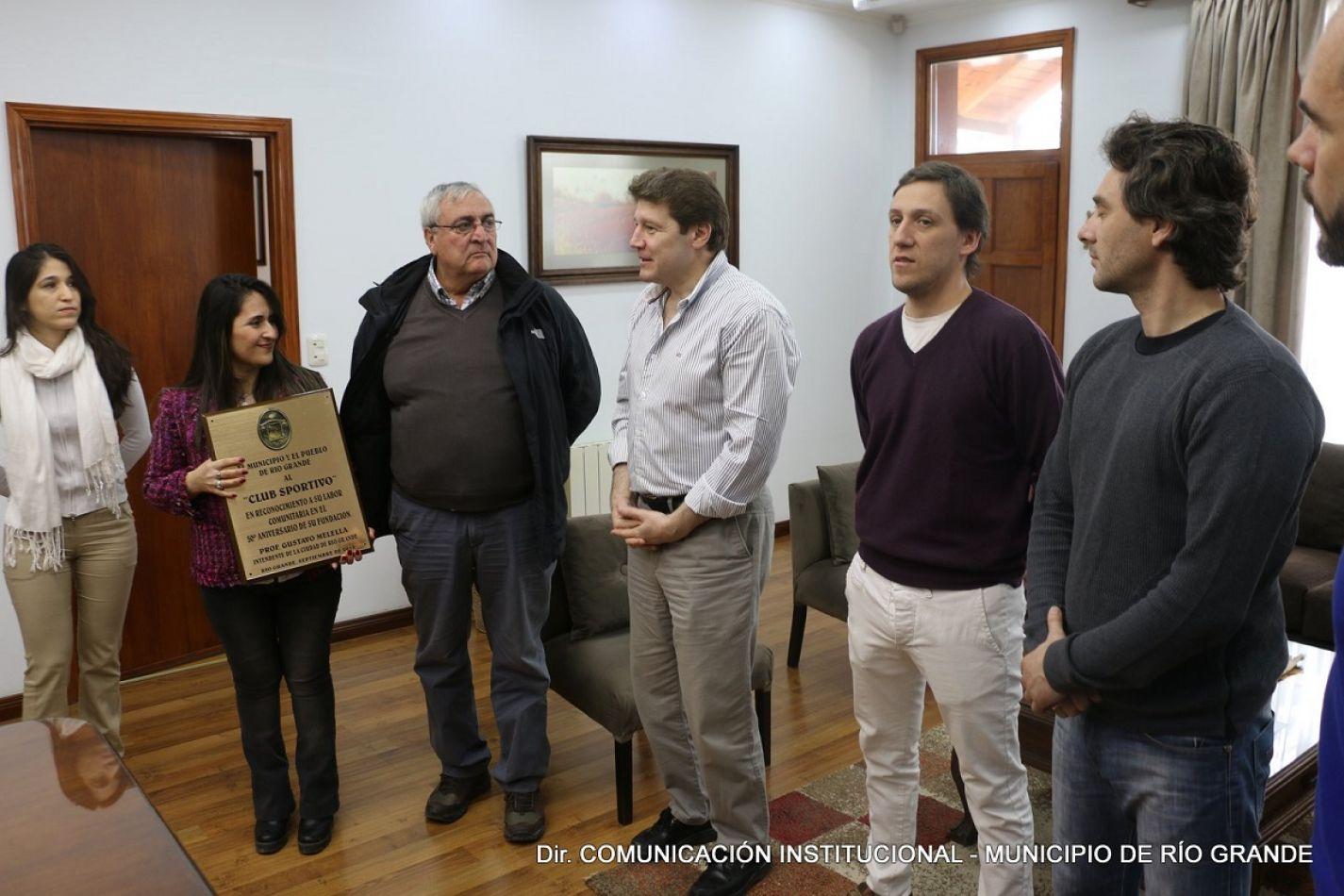 Reconocieron al Club Sportivo de Río Grande