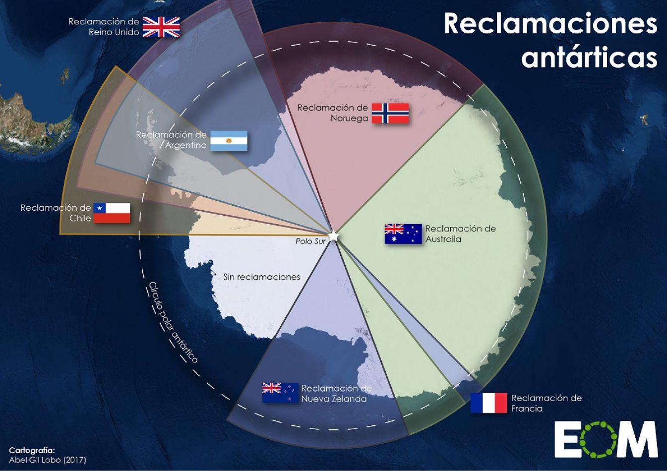 Inglaterra le cambió el nombre a la Antártida Argentina