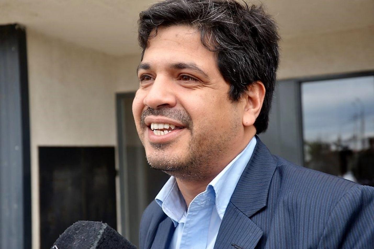 El ministro de Gobierno de Tierra del Fuego, José Luis Álvarez.