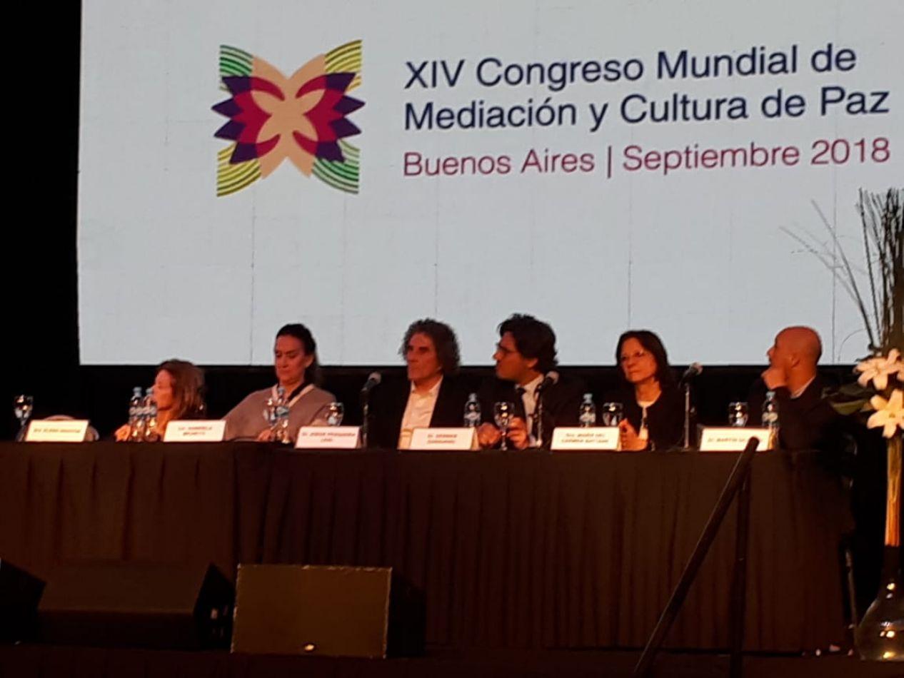 """El Poder Judicial participó del """"XIV Congreso Mundial de Mediación y Cultura de Paz"""""""