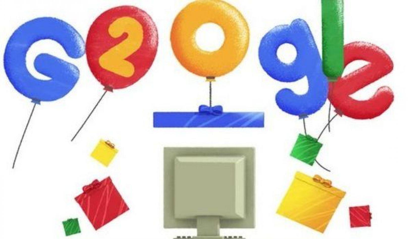 Google cumplió 20 años online y llega con varios cambios