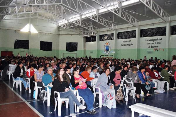 El polideportivo Carlos Margalot volverá a ser sede del esperado evento.