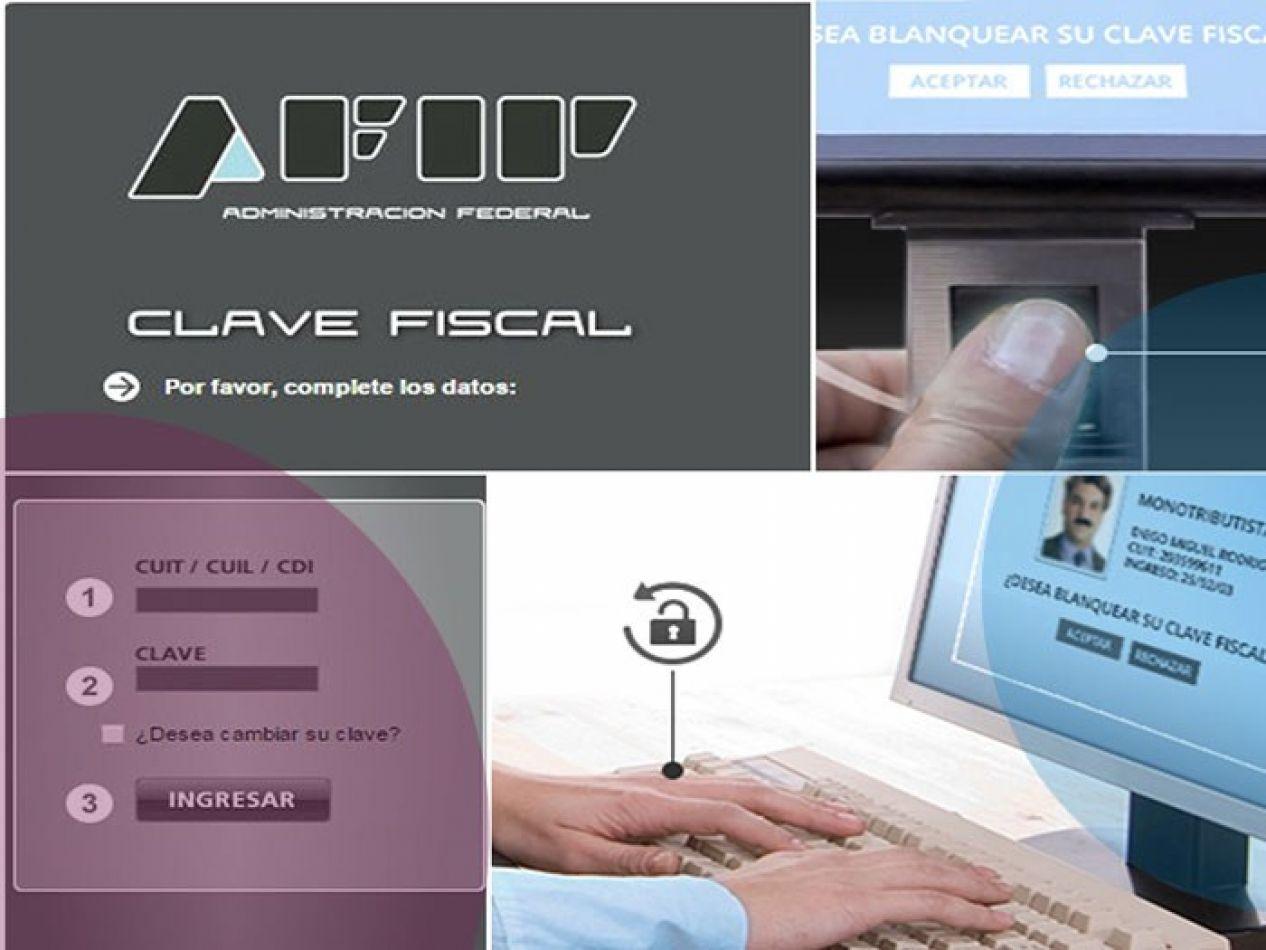 AFIP permitirá sacar online CUIT y Clave Fiscal
