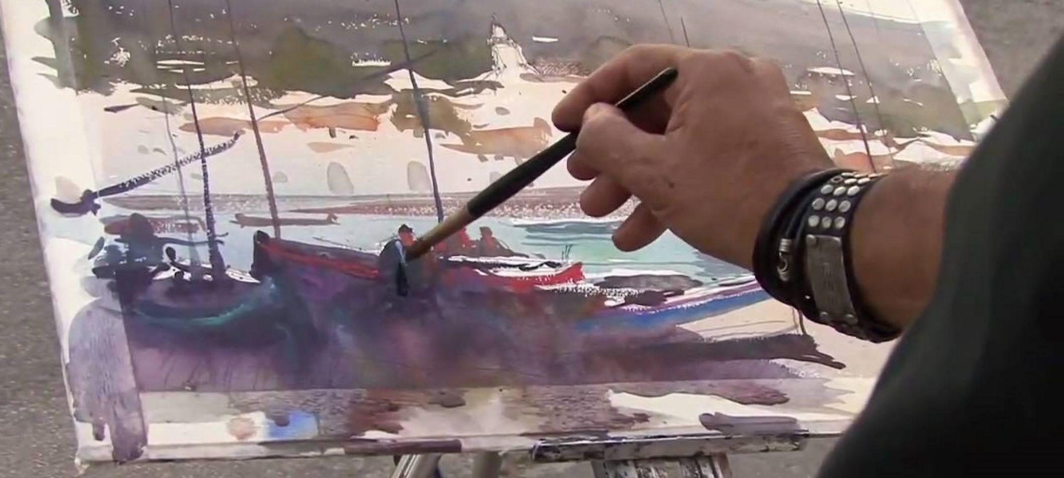 Más de cien obras de artistas argentinos y chilenos en el Museo Marítimo de Ushuaia.