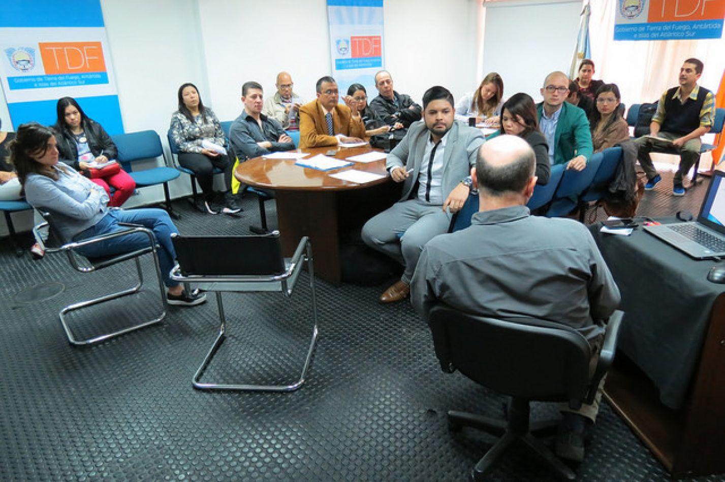 Los encuentros se desarrollaron en el Auditorio Islas Malvinas de Casa Tierra del Fuego