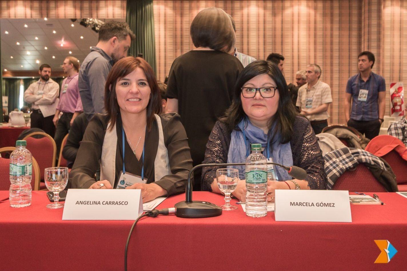 Las legisladoras Carrasco y Gómez participaron del 4° Foro Patagónico
