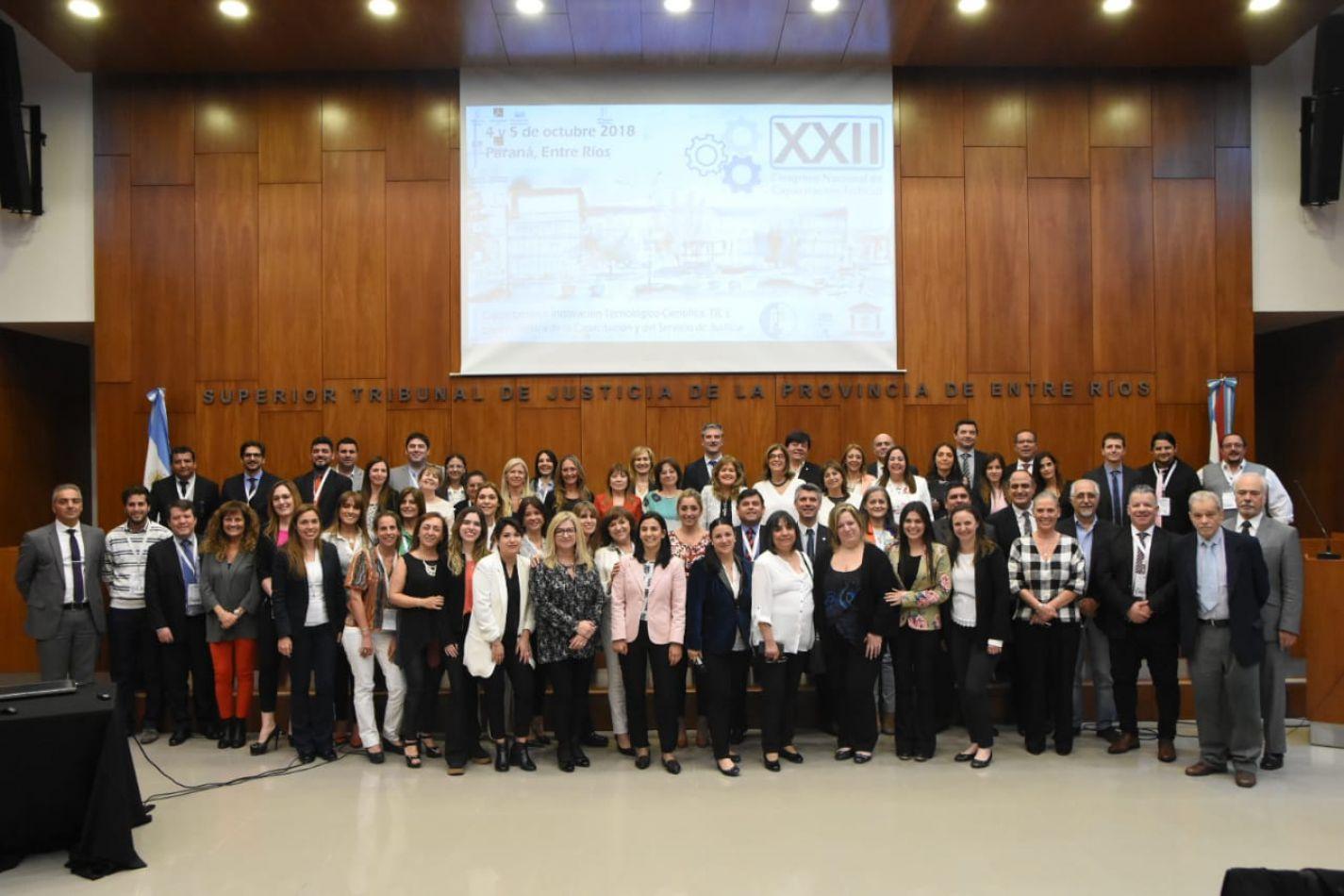 XXII Congreso Nacional de Capacitación Judicial