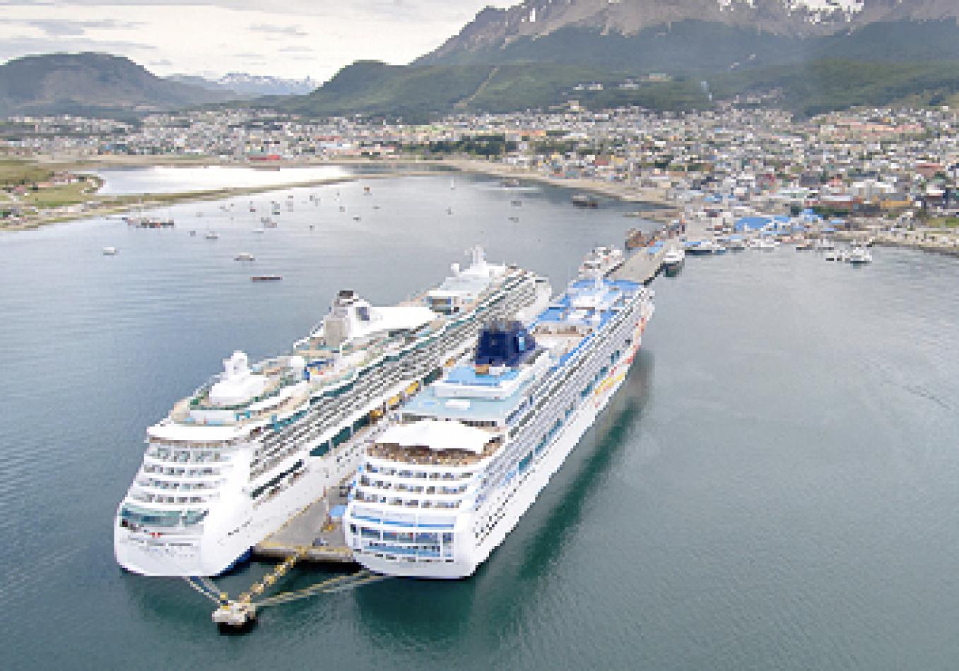 Puerto de Ushuaia espera 394 recaladas esta temporada