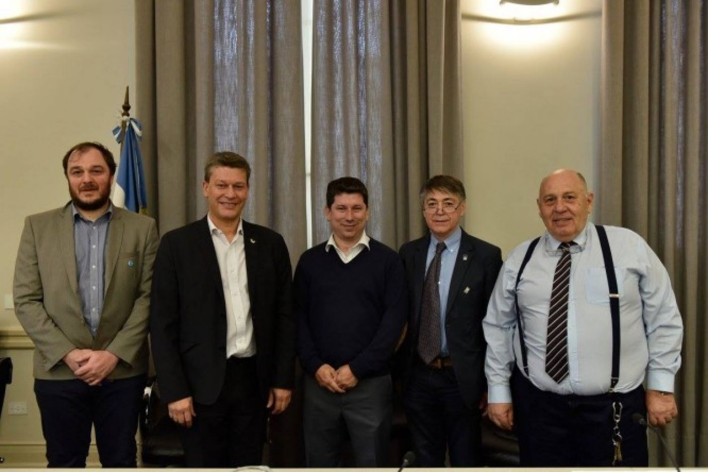La reunión del CPRES Sur se desarrolló en  el Salón Vera Peñaloza del Ministerio de Educación, Cultura, Ciencia y Tecnología, en Buenos Aires