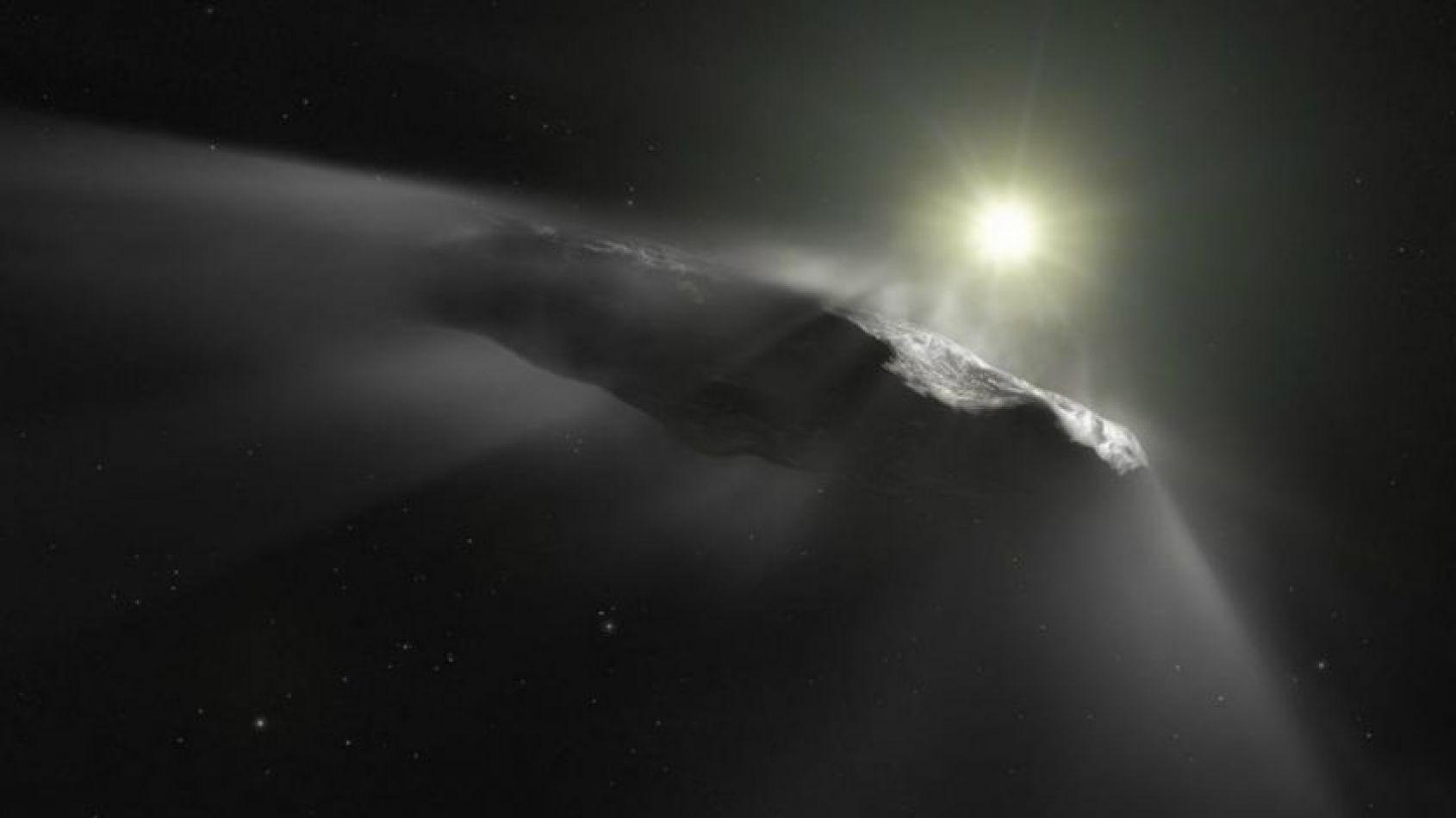 El asteroide Oumuamua