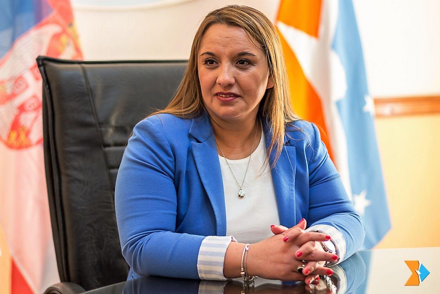 Legisladora Andrea Freites.