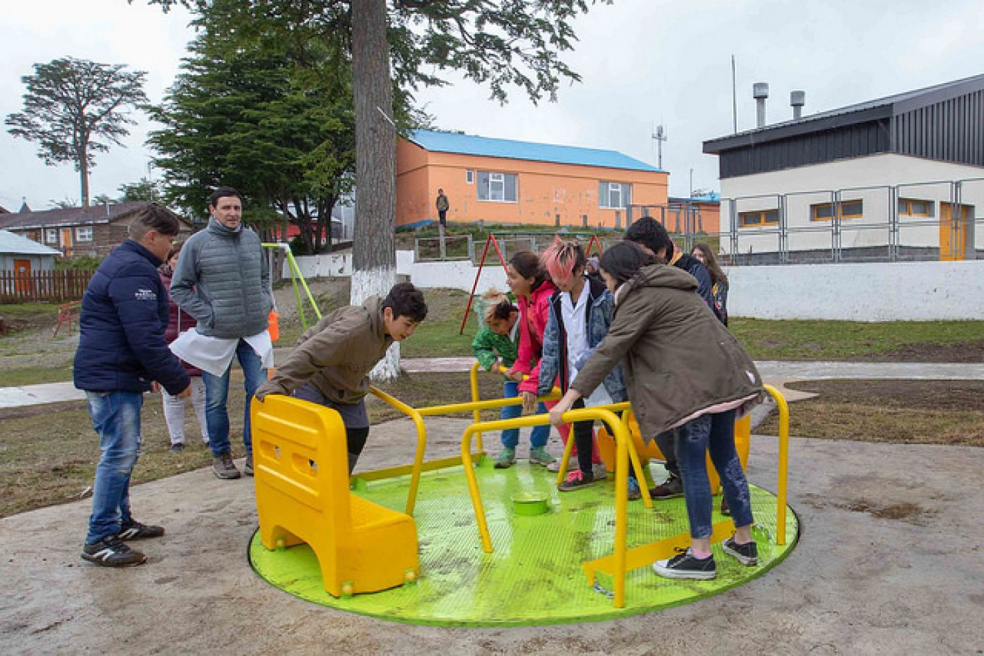Plaza integradora e inclusiva en Tolhuin