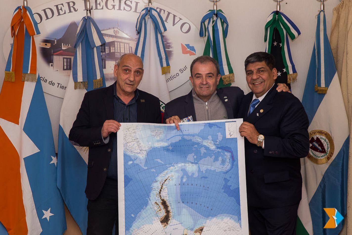 Reivindican soberanía argentina sobre las Islas Malvinas, Islas del Atlántico Sur y la Antártida