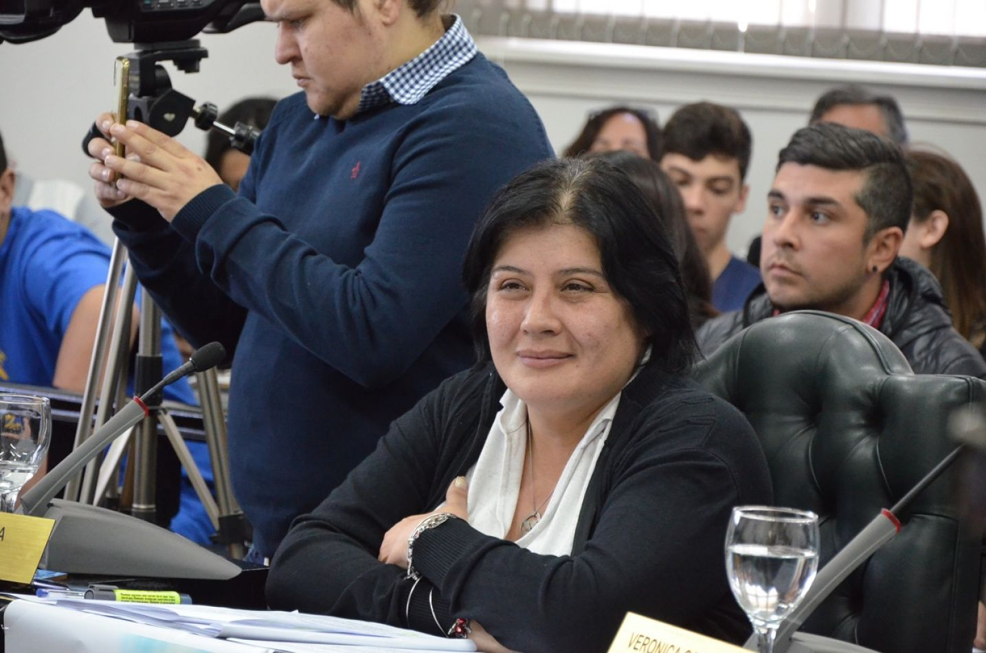 "Concejal Miriam L""aly"" Mora."