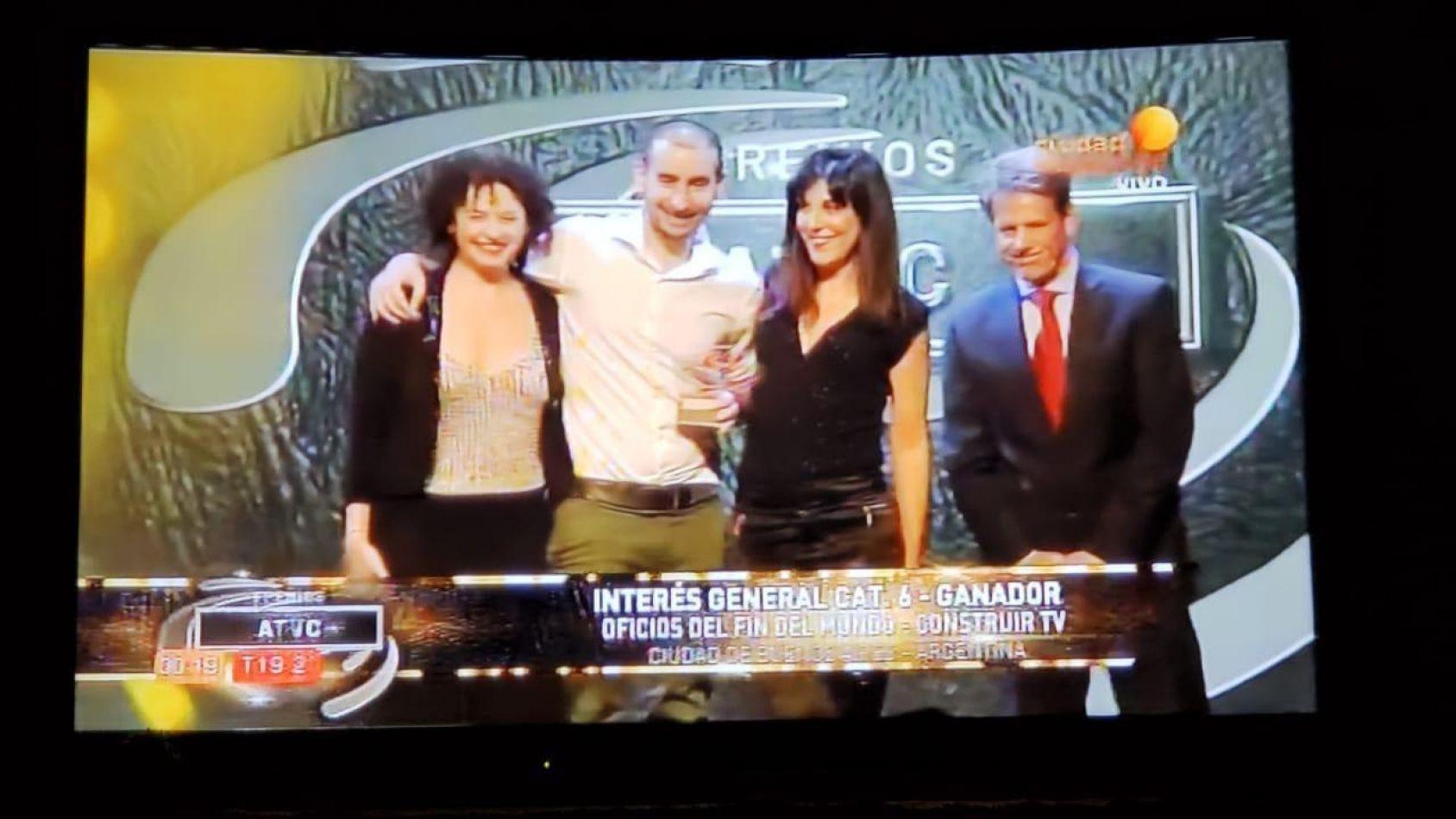 Oficios del Fin del Mundo ganó premios ATVC