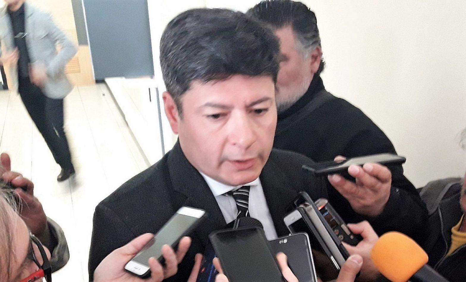 Francisco Ibarra, abogado de Gustavo Melella.