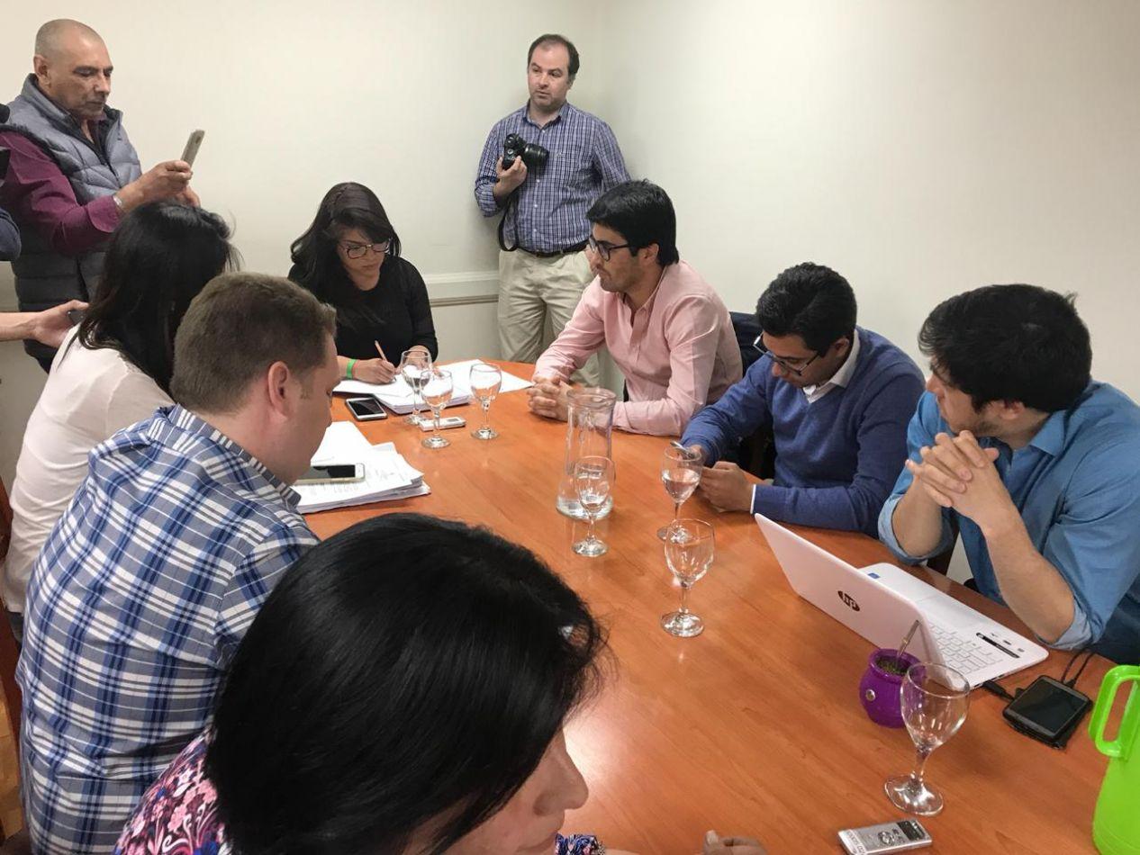 Reunión de cierre de análisis del presupuesto