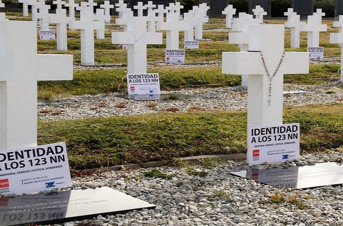 Identificaron a más soldados argentinos caídos en Malvinas