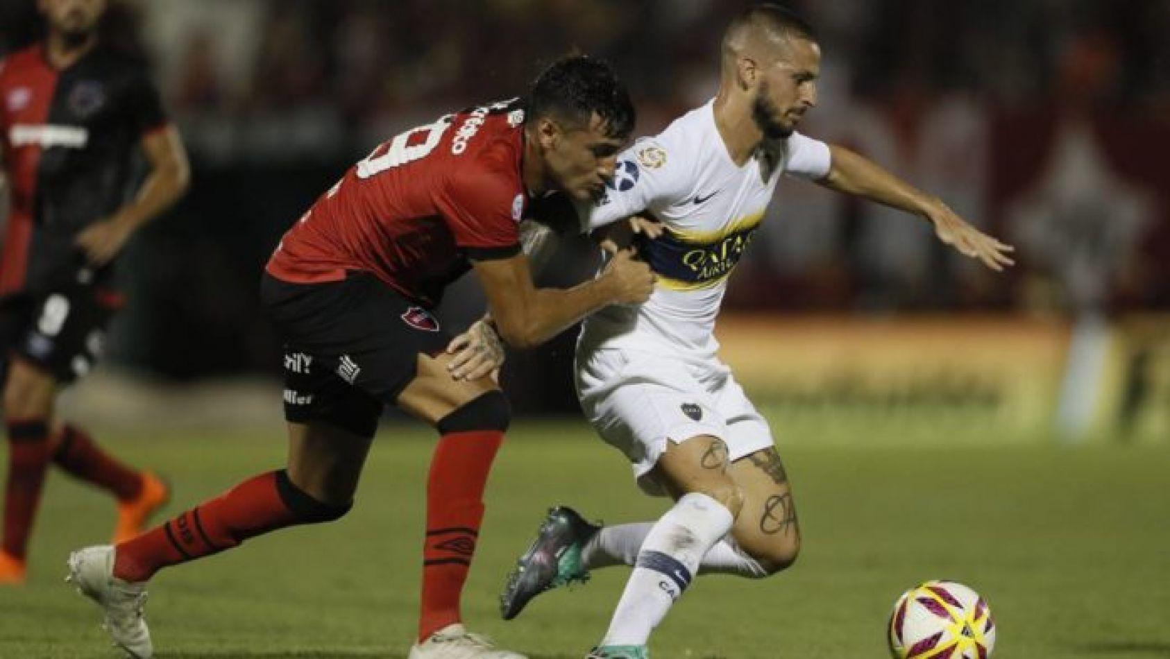 Boca igualó 1 a 1 con Newell's en Rosario