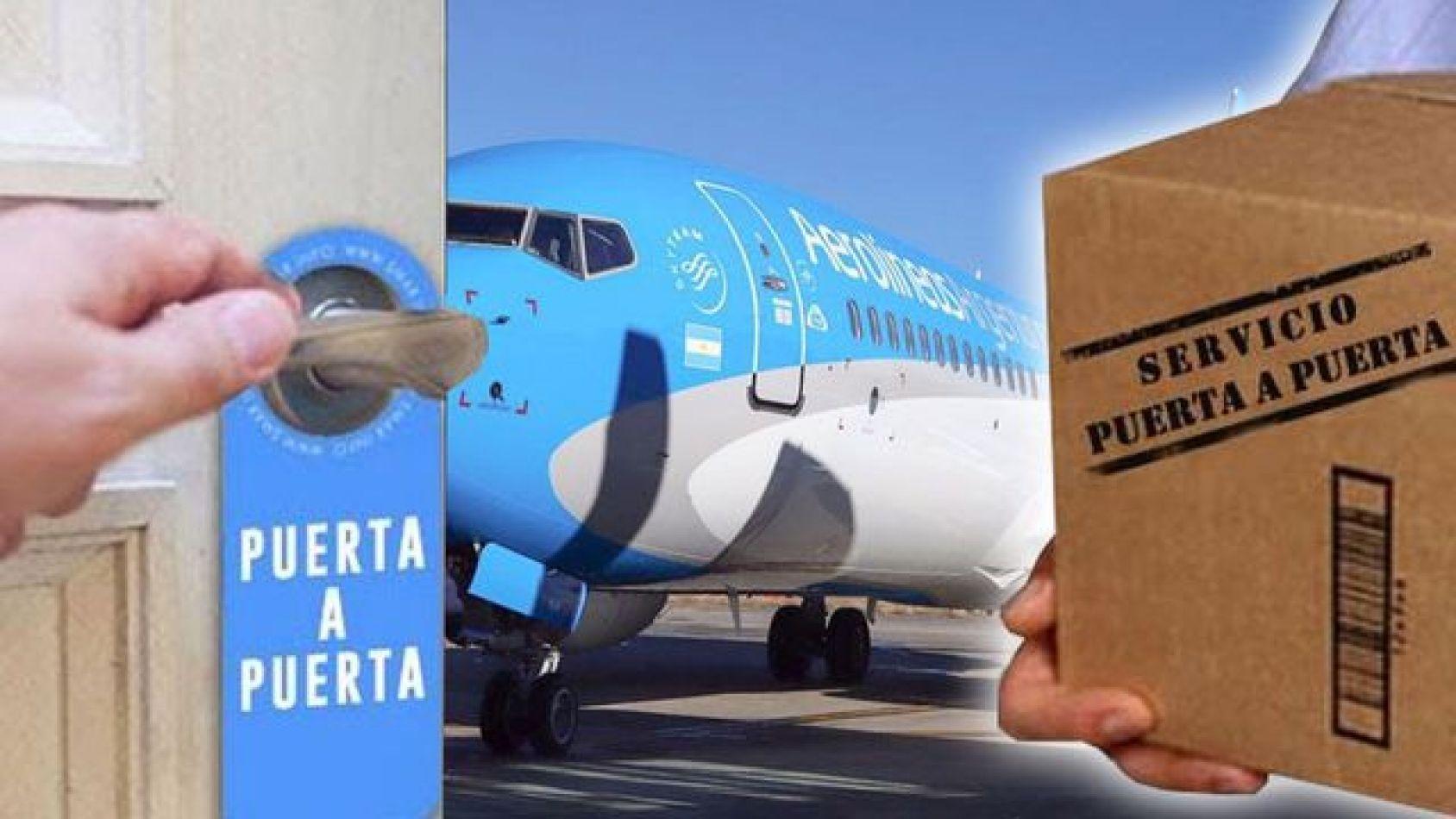 Servicio puerta puerta de Aerolineas Argentinas