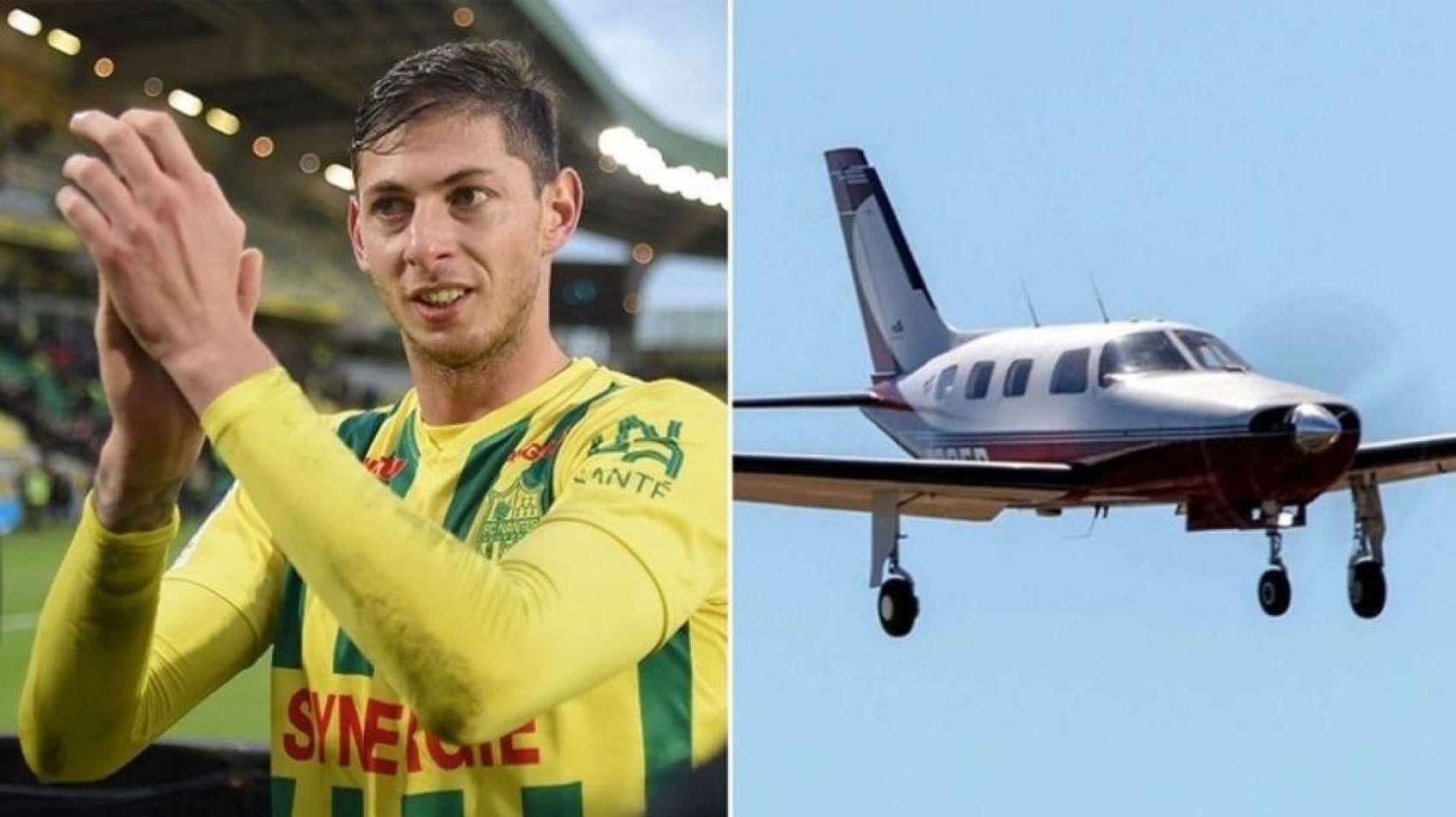 El avión transportaba al piloto David Ibbotson y al futbolista Emiliano Sala en un vuelo que había partido de Nantes con destino hacia Cardiff