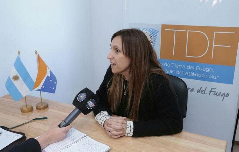 Ministra de Desarrollo Social Paula Gargiulo