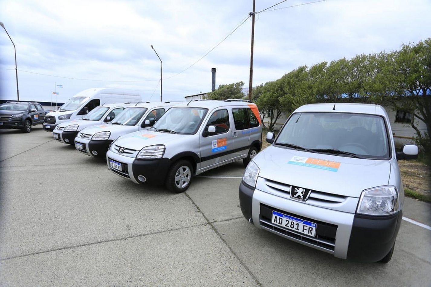 Nueva flota de vehículos para el Ministerio de Salud.