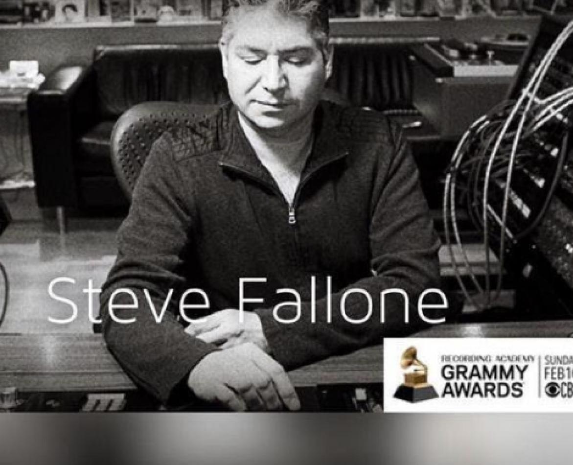 Ingeniero de sonido ganó tres premios Grammy
