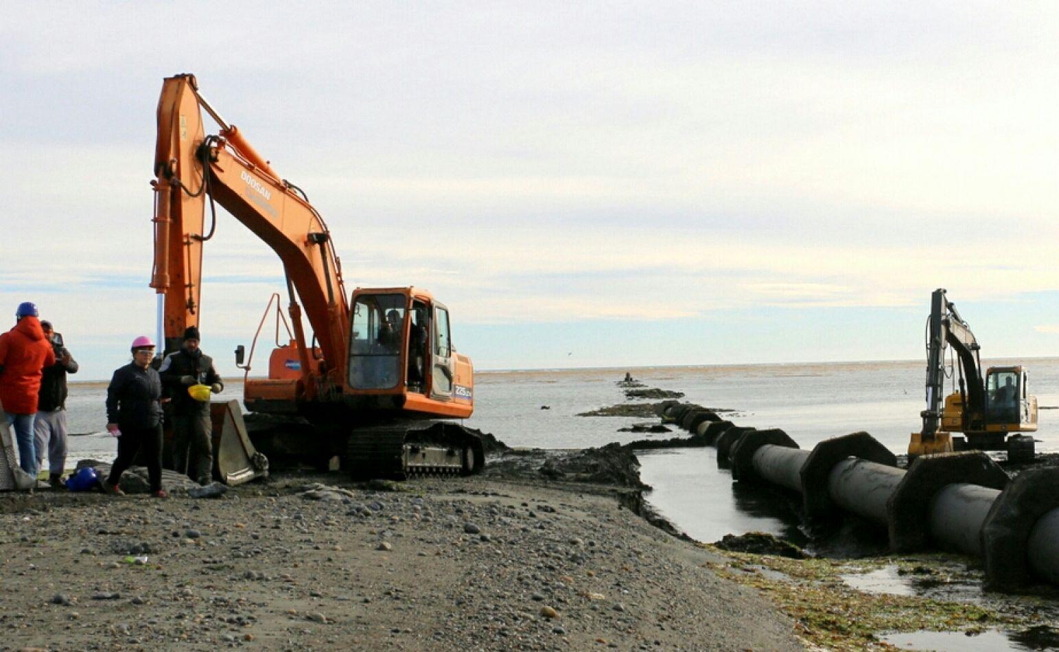 El municipio repara de forma definitiva la coletora Máxima Norte