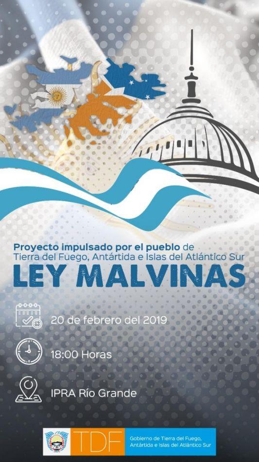 Proyecto Ley Malvinas