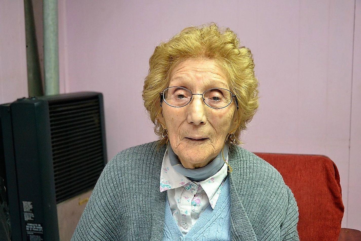 Sara Godoy, la antigua pobladora más longeva de Río Grande.