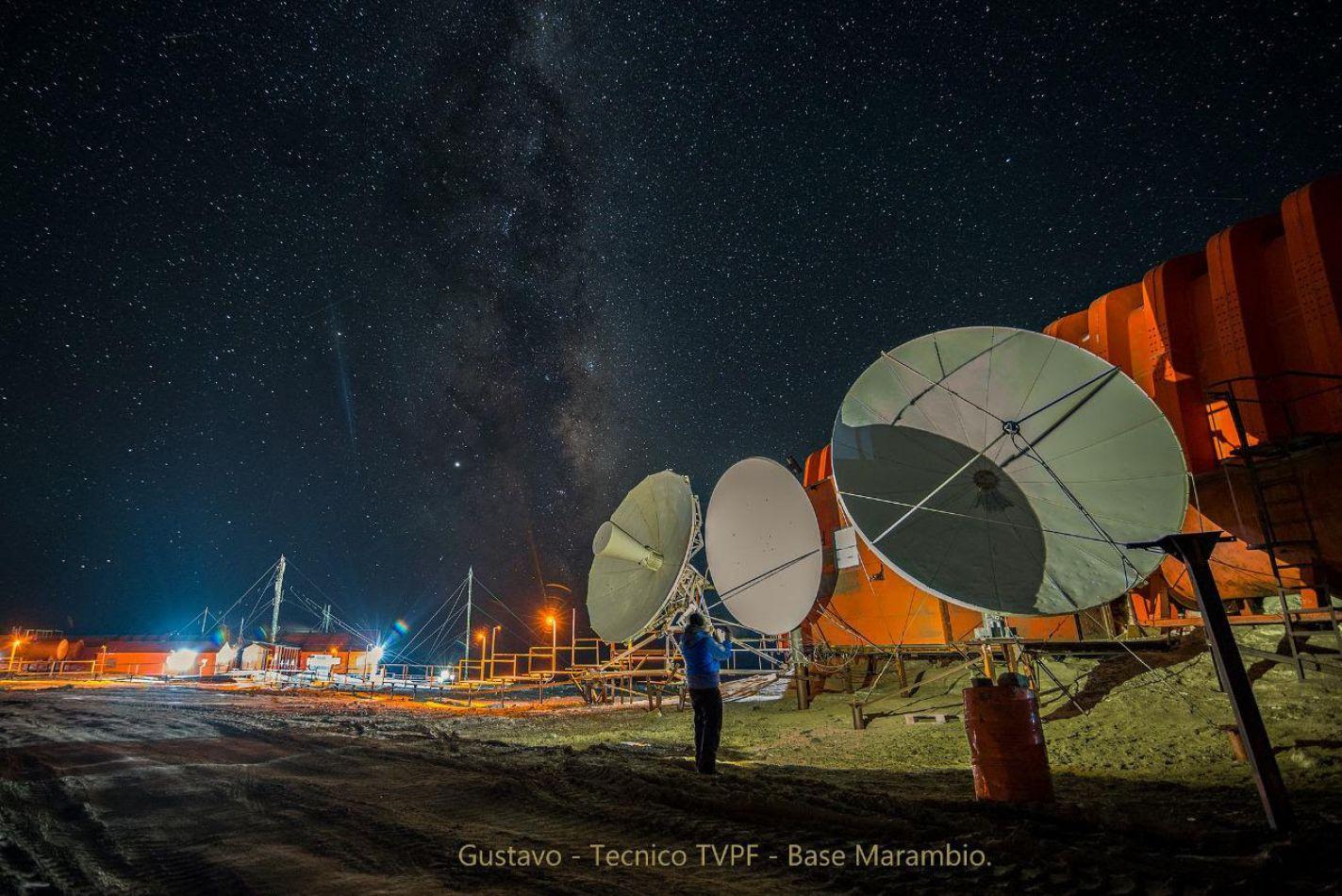 Televisión Pública Fueguina encendión su señal en la Antártida