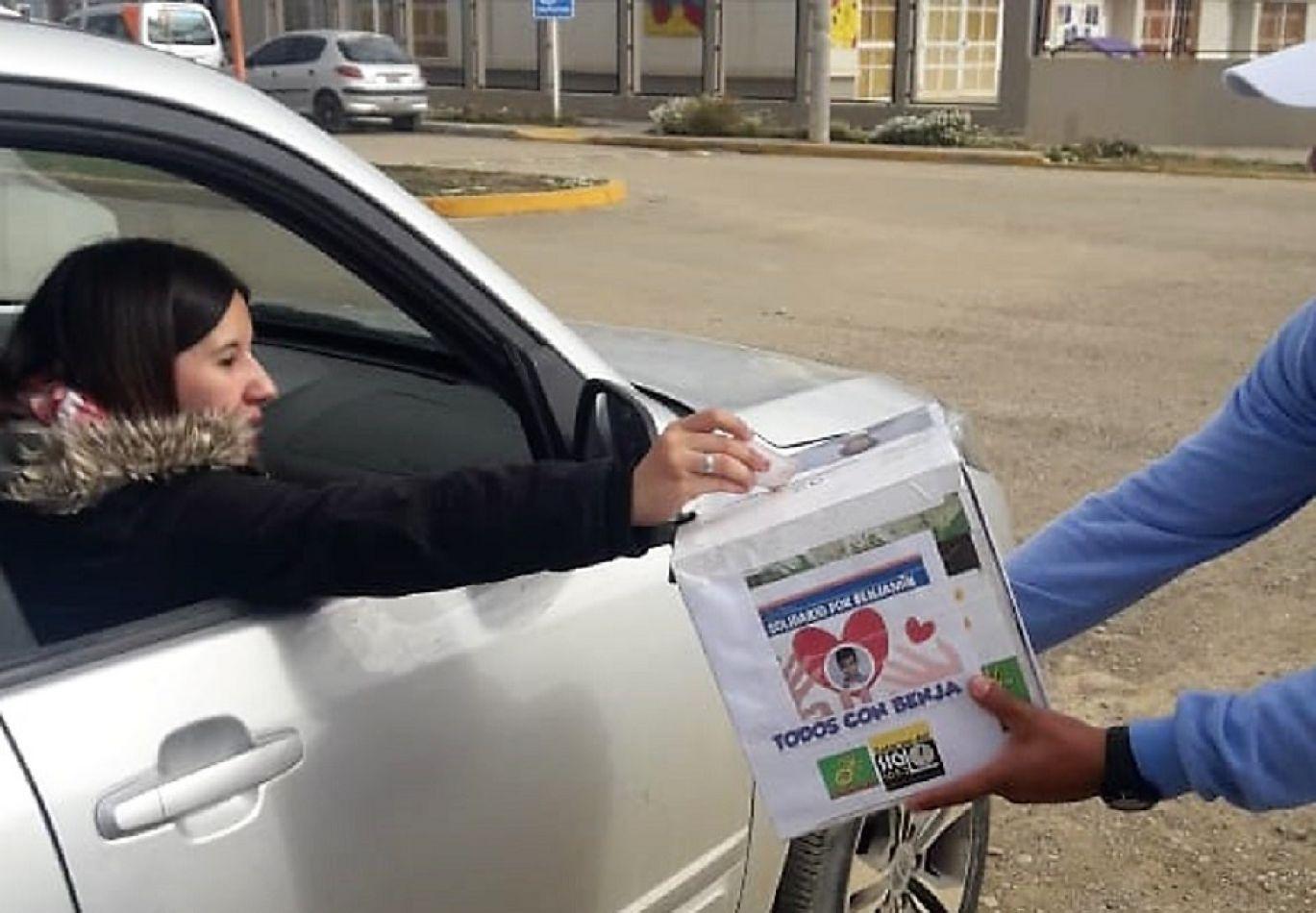Más de 4.500 pesos recaudaron para Benjamín