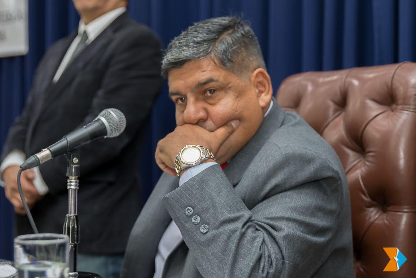 El vicegobernador Juan Carlos Arcando
