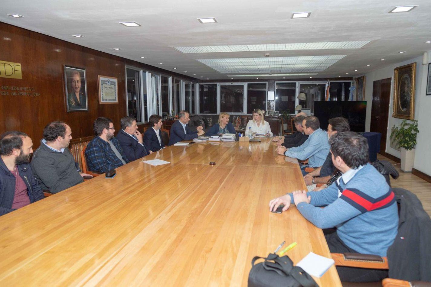 Reunión con la Cámar de Comercio  de Ushuaia